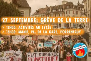 [Communiqué] Le Lycée «occupé» par les grévistes du climat