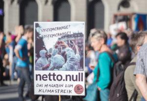 Netto.Null : le journal de la Grève du Climat en édition trilingue