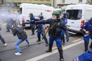 «La police nous a empêché de converger»
